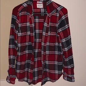 Ahh-mazingly soft classic fit plaid button up